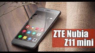 ZTE Nubia Z11 mini - один из самых стильных и доступных камерофонов |где купить?|отзывы