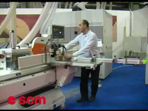 Scott & Sargeant - SCM TEN220 Tenoning Machine - YouTube