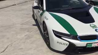 Dubai Police Car BMW i8