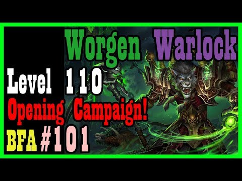 The Opening BFA Campaign! WEP #101 [World Of Warcraft]