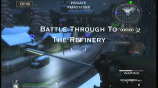 Battlefield 2 Modern Combat Gameplay Xbox.