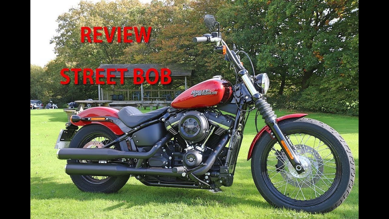 2018 harley davidson softail street bob review youtube. Black Bedroom Furniture Sets. Home Design Ideas