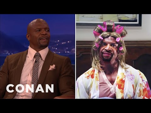 Terry Crews Is In Touch With His Feminine Side