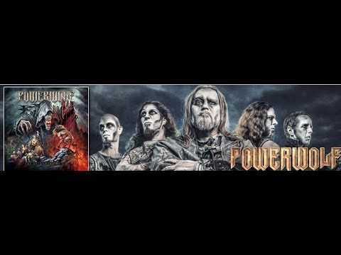 Powerwolf new album THE SACRAMENT OF SIN out in July pre-orders are up..!