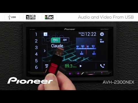 How To - Video And Audio From USB On Pioneer AVH-EX In Dash Receivers 2018