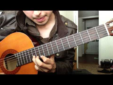 Mujeres Divinas - Vicente Fernandez - Requinto - Tutorial - Leccion de Guitarra Parte 1