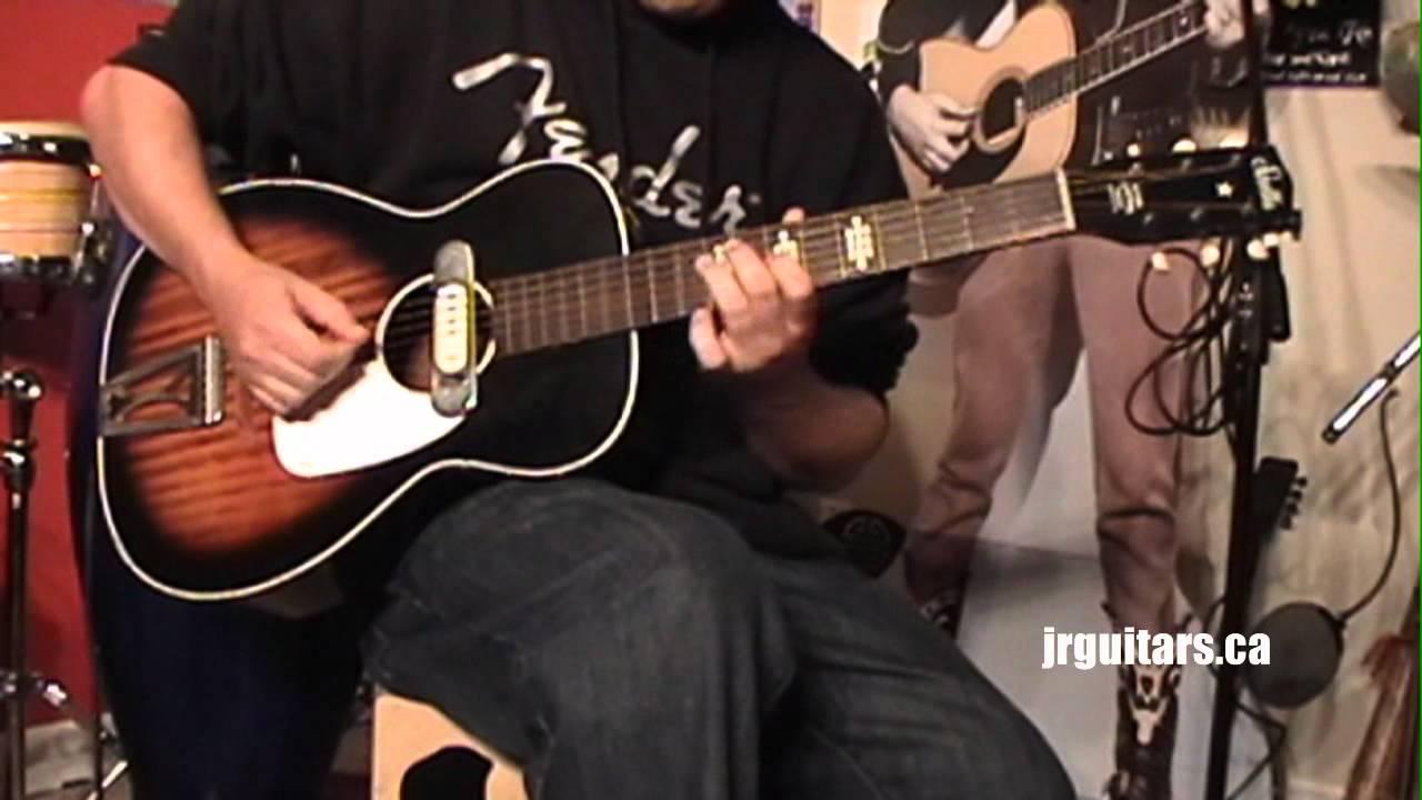 Vintage Dearmond Acoustic Soundhole Pickup Demo Stella Acoustic