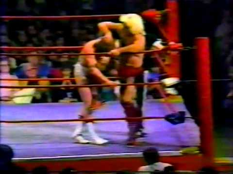 Ric Flair vs Mike Von Erich