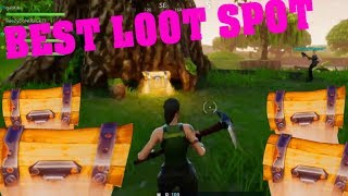 BEST PLACE TO FIND LEGENDARY LOOT AND TRIPLE CHESTS - fortnite battle royale guide de jeu gratuit