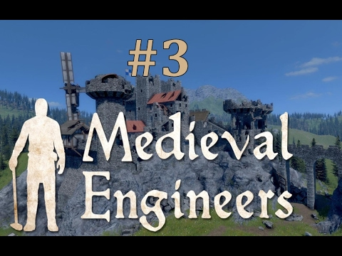 Medieval Engineers Gameplay EP3 - Mining For Iron