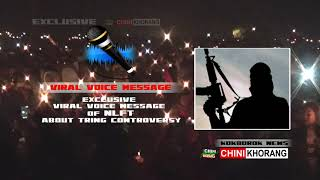 Exclusive Viral Voice Message of NLFT-About Tring Controversy