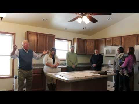 Habitat for Humanity home is completed and presented in Ripon