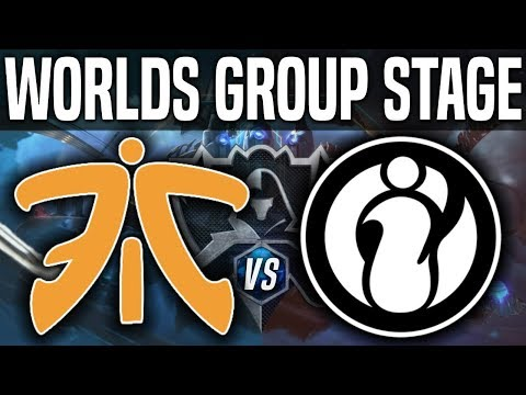 FNC vs IG - Worlds 2018 Group Stage Day 3 - Fnatic vs Invictus Gaming Worlds 2018 Group Stage Day 3