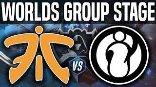 Video FNC vs IG - Worlds 2018 Group Stage Day 3 - Fnatic vs Invictus Gaming Worlds 2018 Group Stage Day 3 download MP3, 3GP, MP4, WEBM, AVI, FLV Oktober 2018
