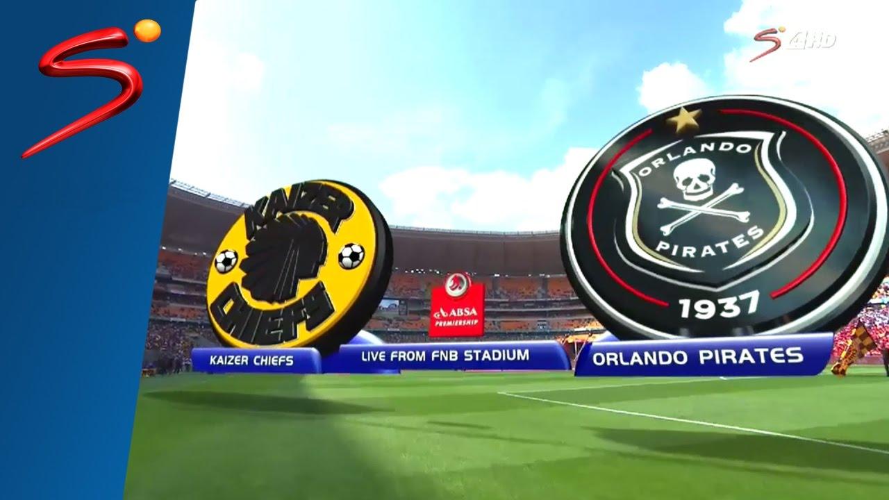 Chiefs Vs Pirates: Absa Premiership 2016/17: Kaizer Chiefs Vs Orlando Pirates