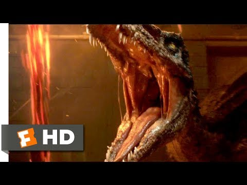 Jurassic World: Fallen Kingdom (2018) - Baryonyx Attack Scene (3/10) | Movieclips