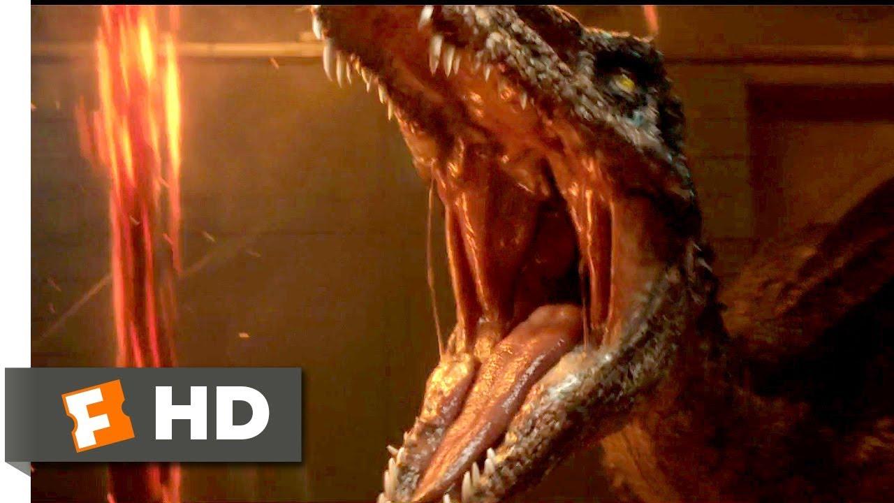 Download Jurassic World: Fallen Kingdom (2018) - Baryonyx Attack Scene (3/10) | Movieclips