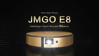 JMGO E8 DLP Projector 3D Smart Home Theater Beamer Android TV Box