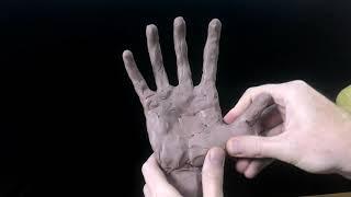 РУКА  В СТИЛЕ CYBERPUNK    Из Пластилина , ЛЕПКА СВОИМИ РУКАМИ   Virus BF Sculpting