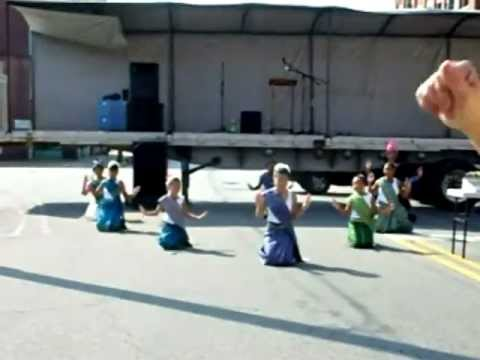 Lao Traditional Dance- Performance in the town of Mt. Gilead