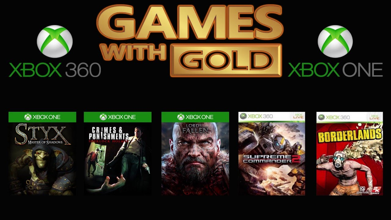 Xbox 360 Games With Gold : Xbox live games with gold march one