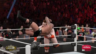 WWE 2K15- Sheamus vs Randy Orton No Hold Barred  For WWE Championship  (PS4)