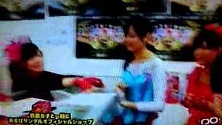 森カノン画伯のセンスww※テレビ放送の直で撮ったから、画質悪いです.