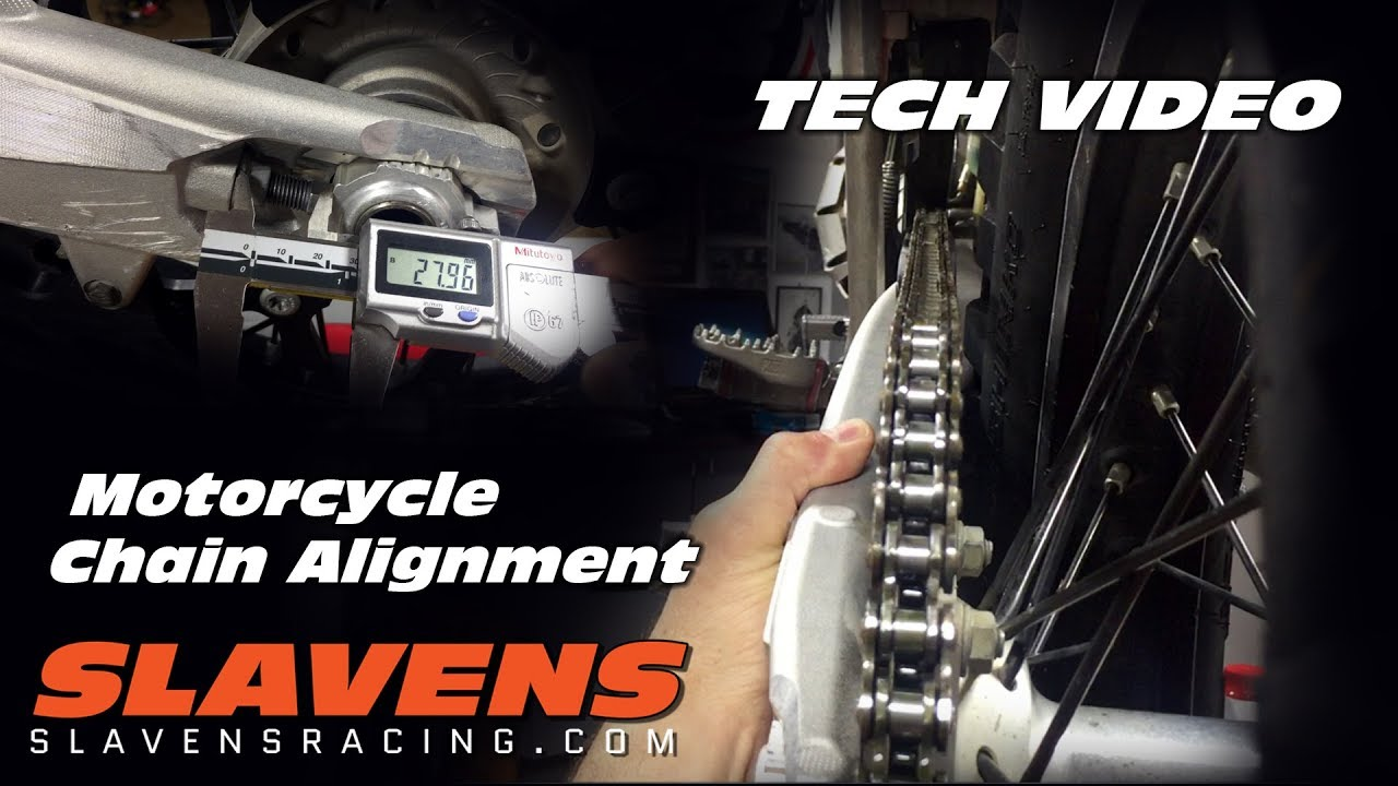 How-to Align a Motorcycle Chain