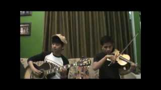 Ipul (Violin) ft Angga (Guitar)-Kiss The Rain (Cover)