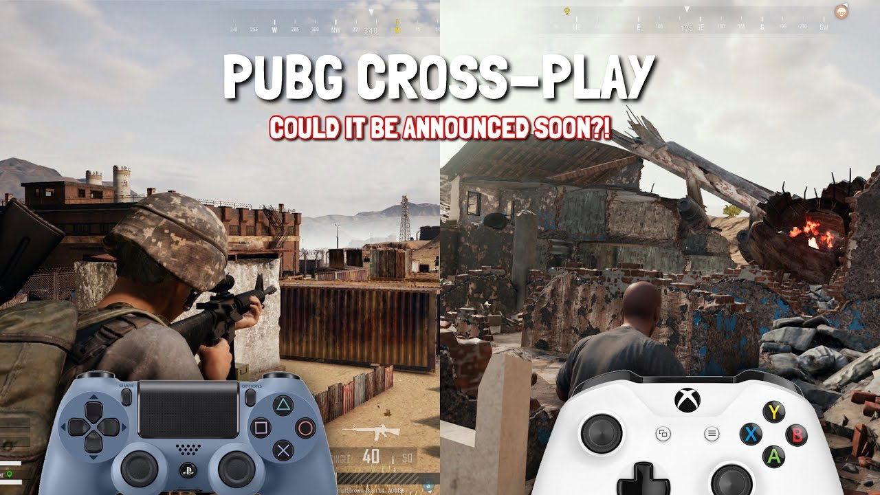 *PUBG PS4 CROSSPLAY* - Could it be announced soon? (PUBG PS4 Cross  Platform/Release Date Saga)