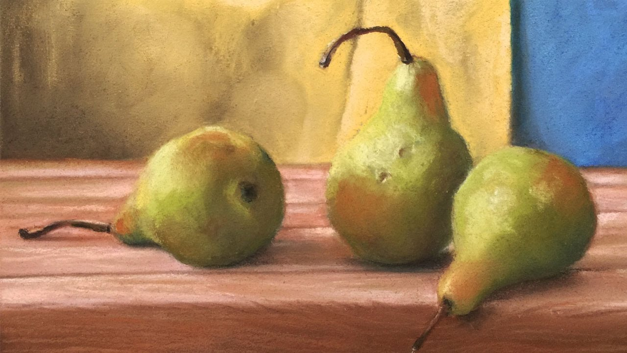 How To Paint A Simple Still Life With Pastels Youtube