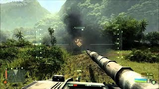 Gambar cover Very Beautiful Tank Battle from Epic FPS Game on PC Crysis 2007