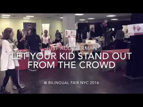 Just Add German lecture @ Bilingual Fair NYC 2016