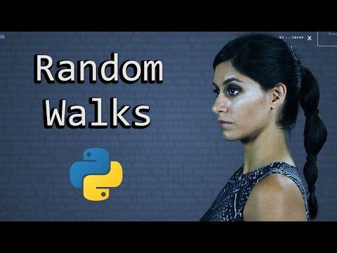 A Random Walk & Monte Carlo Simulation      Python Tutorial      Learn Python Programming