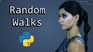 A Random Walk & Monte Carlo Simulation  ||  Python Tutorial  ||  Learn Python Programming