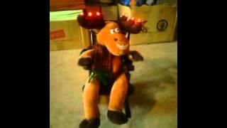 Animated Rocking Chair Reindeer (dan Dee 2008)