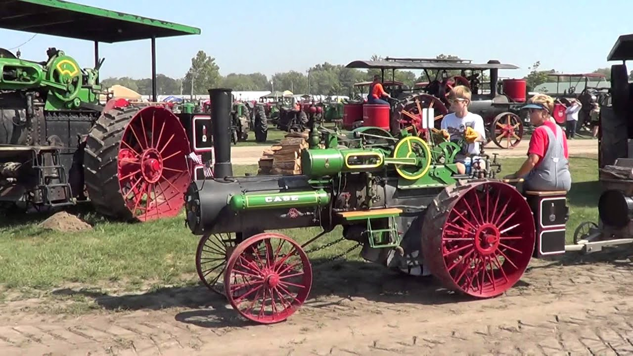 Case Steam Tractor Diagram : Rd scale case steam traction engine youtube