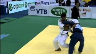 Zantaraia throws Takato for Ippon
