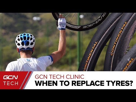 When Should You Replace A Road Bike Tyre? | The GCN Tech Clinic