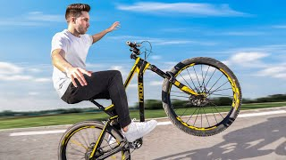 Learning how to Wheelie with No Hands