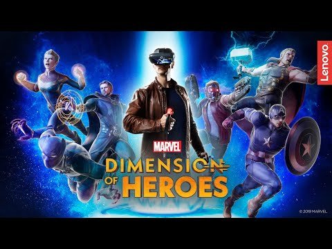 News: Lenovo Expands Mirage AR Headset Beyond Star Wars with Marvel's Dimension of Heroes