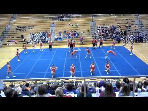 Hamilton Heights High School - Cheer Competition 11-2-2013