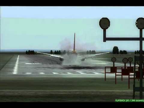 vientiane landing bad weather.wmv