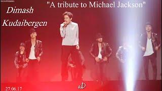 Димаш Кудайбергенов ''Майкл Джексон - A Tribute to Michael Jackson'' LIVE (#BASTAU, Жанды дауыс)