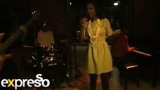 Zama Jobe performs