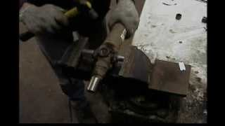 Universal Joint Replacement W/ A Vise, Jeep Wrangler Tj, How To, Diy