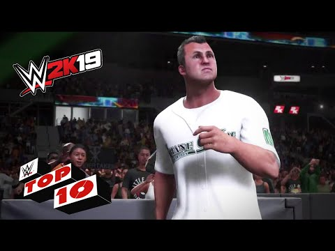 Dramatic Dropkicks: WWE 2K19 Top 10