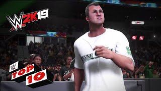 Dramatic Dropkicks: WWE 2K19 Top 10