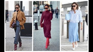 30 Victoria Beckham Street Style Outfits You'll Want to Copy