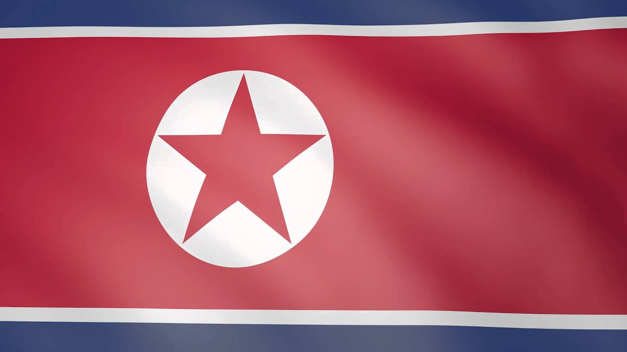 Animated flag of north korea youtube - Picture of a korean flag ...
